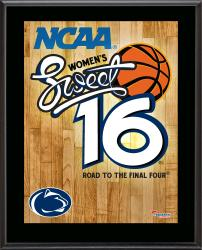 "Penn State Nittany Lions 2014 Women's Sweet 16 Sublimated 10.5"" x 13"" Plaque"