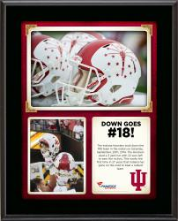 """Indiana Hoosiers 2014 Win Over Missouri Tigers Sublimated 10.5"""" x 13"""" Collage Plaque"""