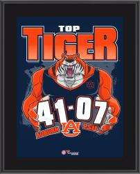 Auburn Tigers 2014 Win over #15 LSU Tigers 10.5'' x 13'' Matchup Plaque