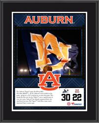 "Auburn Tigers Win Over Ole Miss Rebels Sublimated 10.5"" x 13"" Plaque"