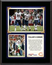 """Kyle Fuller Chicago Bears Registers First Career Interception 10"""" X 13"""" Sublimated Plaque"""