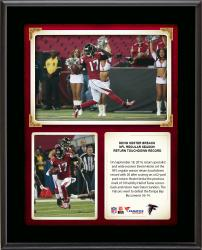 "Devin Hester Atlanta Falcons Sets NFL Regular Season Return Touchdown Record 10"" X 13"" Sublimated Plaque"