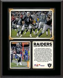 "The Oakland Raiders Earned Their First Win of 2014 with a 24-20 Win Over the Kansas City Chiefs on Thursday Night Football 10"" x 13"" Sublimated Plaque"