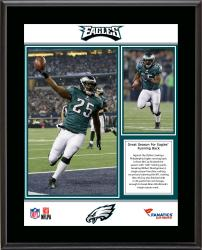 LeSean McCoy Philadelphia Eagles Single-Season Franchise Rushing & Yards From Scrimmage Record Sublimated 10.5'' x 13'' Plaque - Mounted Memories