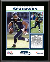 Seattle Seahawks Comeback Win Over Tampa Bay Buccaneers 11/03/13 Sublimated 10.5'' x 13'' Plaque - Mounted Memories