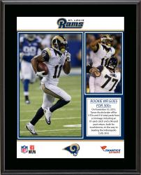 "Tavon Austin St. Louis Rams 300 Total Yards Game Sublimated 10.5"" x 13"" Plaque"