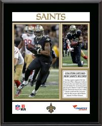 Marques Colston New Orleans Saints Franchise All-Time Receiving Yards Record Sublimated 10.5'' x 13'' Plaque - Mounted Memories