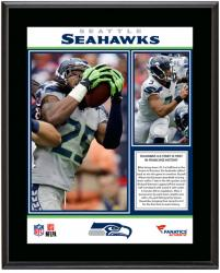"Seattle Seahawks 2013 4-0 Start Sublimated 10.5"" x 13"" Plaque"