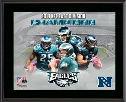 Philadelphia Eagles 2013 NFC East Champs Sublimated 10.5'' x 13'' Plaque - Mounted Memories