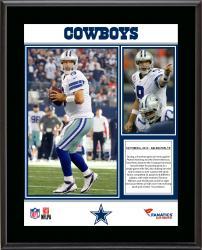 "Tony Romo Dallas Cowboys Franchise Single Game Passing Record Sublimated 10.5"" x 13"" Plaque"