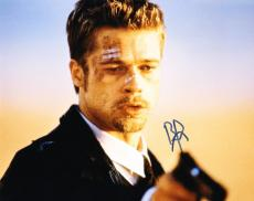 Hot Sexy Brad Pitt Signed 8x10 Photo Autograph In-person Fight Club Seven Coa