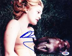Hot Sexy Drew Barrymore Signed 8x10 Photo Authentic Autogarph Psa/dna Coa