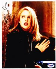 Hot Sexy Drew Barrymore Signed 8x10 Photo Authentic Autogarph Psa/dna Coa B