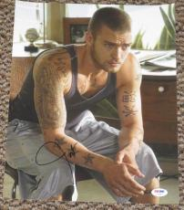 Hot Sexy Hunk Justin Timberlake Signed 11x14 Photo Auto Nsync Psa/dna V72643