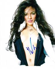 Hot Sexy Michelle Rodriguez Signed 8x10 Photo Autograph Fast And The Furious Coa