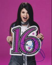 Hot Sexy Selena Gomez Signed 8x10 Photo Authentic Autograph Coa B