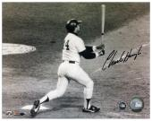 Charlie Hough Los Angeles Dodgers Autographed 8'' x 10'' Home Run Photograph - Mounted Memories