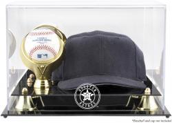 Houston Astros Acrylic Cap and Baseball 2013 Logo Display Case