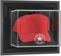 Houston Astros Black Framed Wall-Mounted 2013 Logo Cap Display Case