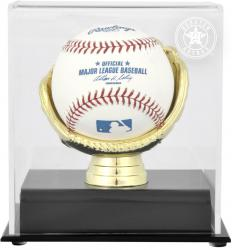 Houston Astros Gold Glove Single Baseball 2013 Logo Display Case