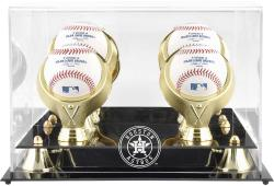 Houston Astros Golden Classic Four Baseball 2013 Logo DisplayCase