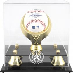 Houston Astros Golden Classic Single Baseball 2013 Logo Display Case