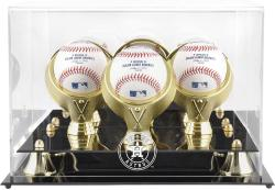 Houston Astros Golden Classic Three Baseball 2013 Logo DisplayCase