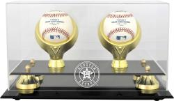 Houston Astros Golden Classic Two Baseball 2013 Logo Display Case