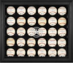 Houston Astros Logo Black Framed 30-Ball 2013 Logo Display Case