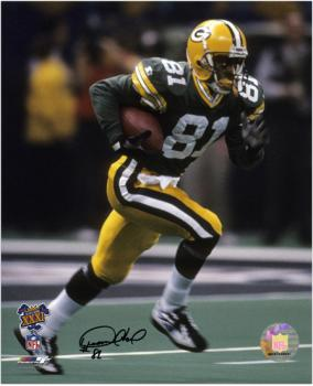 """Desmond Howard Green Bay Packers Super Bowl XXXI Autographed 8"""" x 10"""" Running Photograph"""