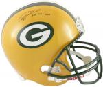 "Desmond Howard Green Bay Packers Autographed Riddell Replica Helmet with ""SBXXXI MVP"" Inscription"
