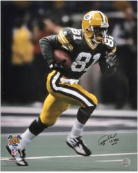 Desmond Howard Autographed Photo - Super Bowl XXXI 16x20 Mounted Memories
