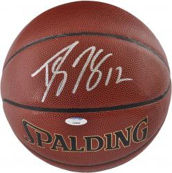 Dwight Howard Houston Rockets Autographed Spalding Indoor Outdoor Basketball - Mounted Memories