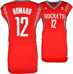 Dwight Howard Houston Rockets Autographed adidas Red Replica Jersey
