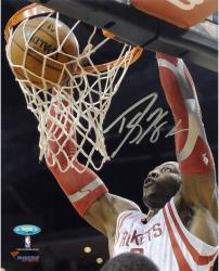 Dwight Howard Houston Rockets Autographed 8'' x 10'' Vertical Dunk Photograph - Mounted Memories