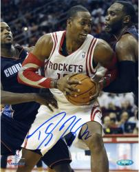 """Dwight Howard Houston Rockets Autographed 8"""" x 10"""" Vertical with Ball Photograph"""