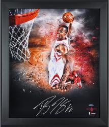 Dwight Howard Houston Rockets Framed Autographed 20'' x 24'' In Focus Photograph-Limited Edition of 25 - Mounted Memories