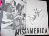 Howard Stern Signed 1995 Miss America 1st Edition Hardback Book JSA Sirius WNBC