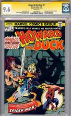 Howard The Duck #1 Cgc 9.6 White Pages Ss Stan Lee Cgc #1203795013