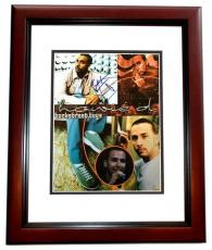 Howie Dorough Signed - Autographed Backstreet Boys 11x14 Photo MAHOGANY CUSTOM FRAME - Howie D