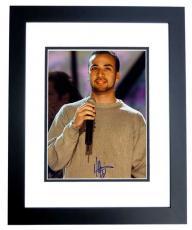 Howie Dorough Signed - Autographed Backstreet Boys 8x10 Photo BLACK CUSTOM FRAME