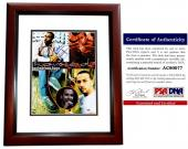 Howie Dorough Signed - Autographed Backstreet Boys 11x14 inch Photo with PSA/DNA Certificate of Authenticity (COA) MAHOGANY CUSTOM FRAME - Howie D