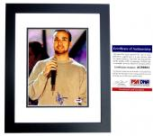 Howie Dorough Signed - Autographed Backstreet Boys 8x10 inch Photo with PSA/DNA Certificate of Authenticity (COA) BLACK CUSTOM FRAME - Howie D