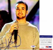 Howie Dorough Signed - Autographed Backstreet Boys 8x10 inch Photo with PSA/DNA Certificate of Authenticity (COA) - Howie D