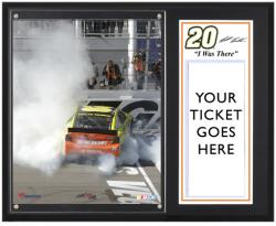 Matt Kenseth 2013 Kobalt Tools 400 Sublimated 12'' x 15'' I Was There Plaque - Mounted Memories