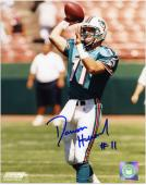 Damon Huard Miami Dolphins Autographed 8x10 Photograph