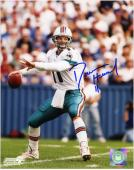 Damon Huard Miami Dolphins Autographed 8'' x 10'' Throwing Photograph - Mounted Memories