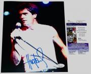 Huey Lewis Autographed 8x10 Photo (the News) W/ Proof! - Jsa Coa!