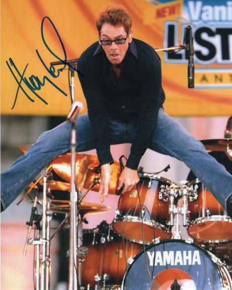 Huey Lewis Power of Love Singer Signed 8x10 Photo w/COA