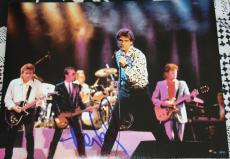 Huey Lewis signed 8 x 10, Huey Lewis & the News, Back to the Future, COA